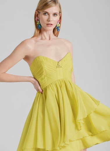 Özlem Erkan Elbise Yeşil